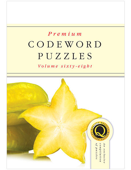 Premium Codeword Puzzles Vol 68